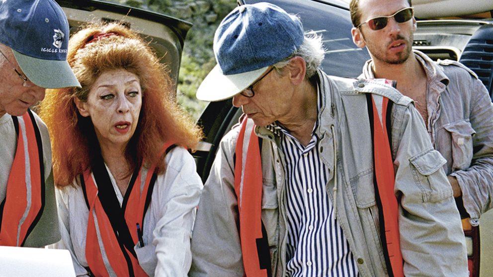 Les artistes Christo et Jeanne-CLaude