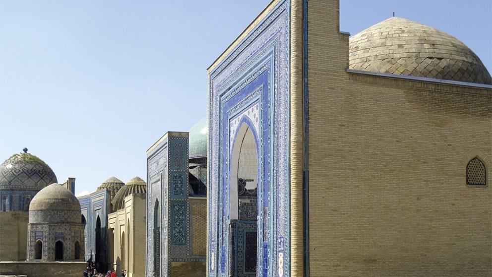 La nécropole Shah-i-Zinda (