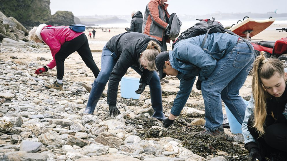 Le sud-ouest de l'Angleterre en pointe. L'activisme des habitants des villes côtières de cette région du Royaume-Uni a incité l'agence de protection de l'environnement à créer une brigade anti-plastique en janvier 2018.