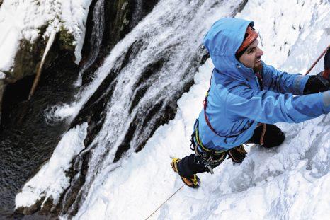 Par nature, la neige glacée est matière à réflexion: savoir bien vivre ces moments fugaces de grimpe marquante