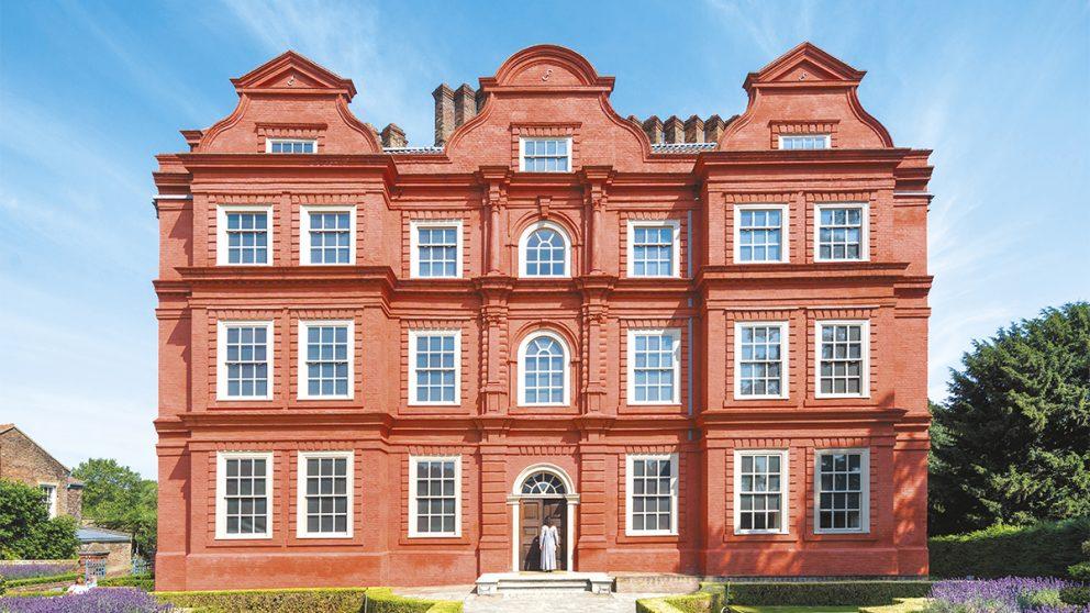 Kew Palace. Le plus petit des palais royaux britanniques.