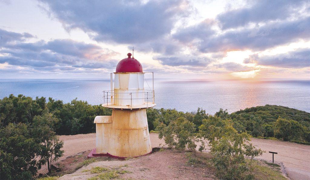 Cocktown. Tout en haut de l'Australie, un des derniers phares de la côte est.