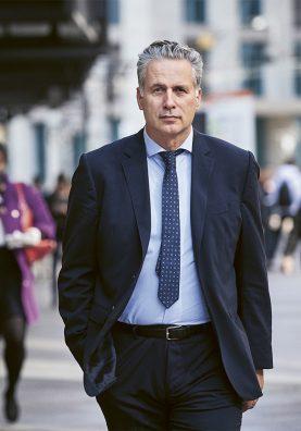 Rolin Wavre, député au Grand Conseil et vice-président du PLR Suisse.