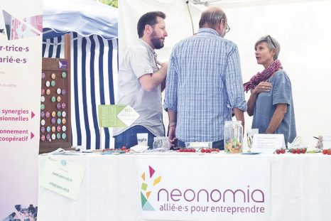 Voilà 3 ans que neonomia partage son modèle innovant lors du Festival Alternatiba à Genève.