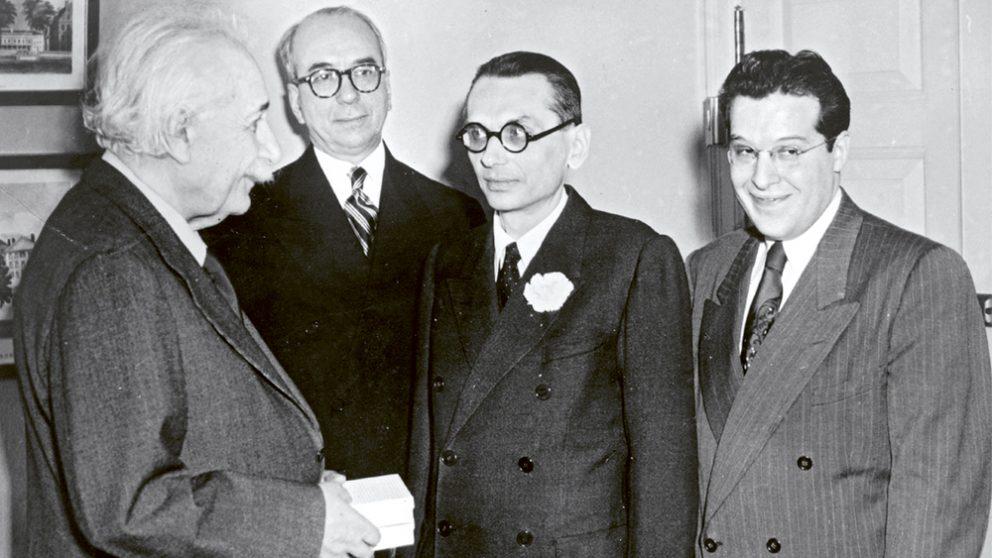 Rencontre Albert Einstien