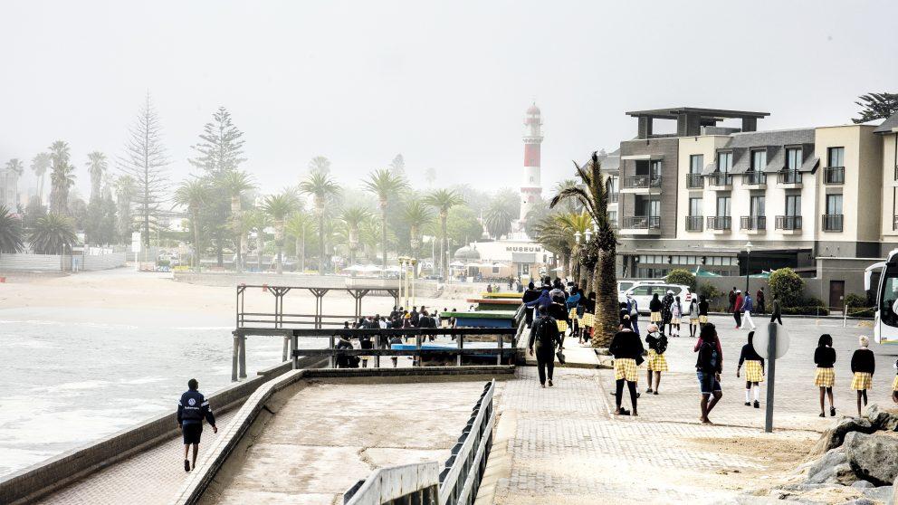 Swakopmund, jadis « capitale blanche » de la Namibie.