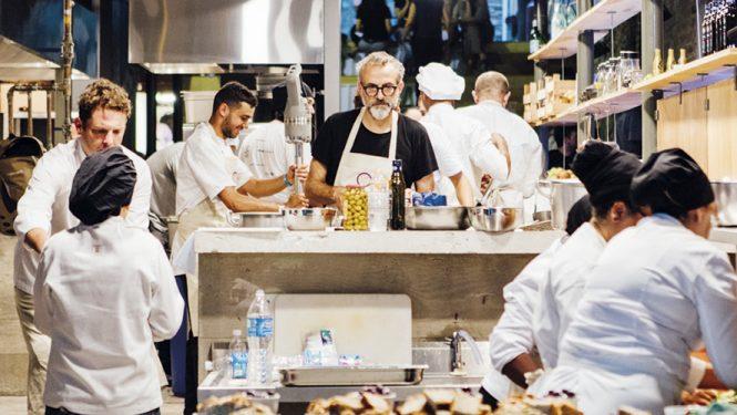 Le Refettorio, une cantine solidaire servant gratuitement des repas aux plus démunis.