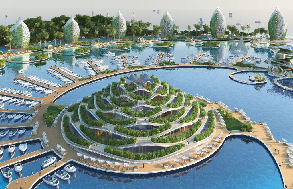 Les cités fertiles guériront l'environnement. L'humanité urbanisée fabriquera elle-même toute sa nourriture dans ses villes fertiles. Aucune ressource ne sera prélevée. La nature aura le temps de se reconstituer après des siècles d'exploitation irraisonnée.