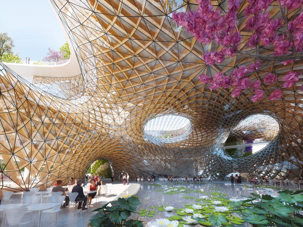 En Chine, le tourisme de masse irresponsable est une calamité. Vincent Callebaut propose d'obliger les touristes à se mêler aux résidents permanents. Les uns et les autres apprennent à s'accepter dans un environnement conçu pour éviter conflits et gaspillages.