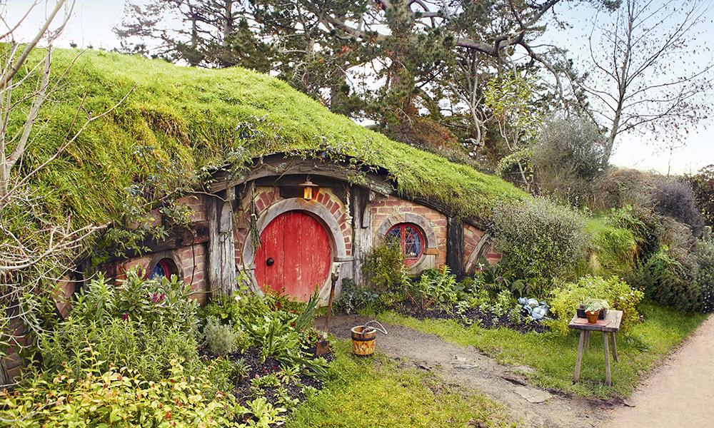 Matamata. Le village des Hobbits où furent tournées certaines scènes du « Seigneur des Anneaux ». © Ian Brodie