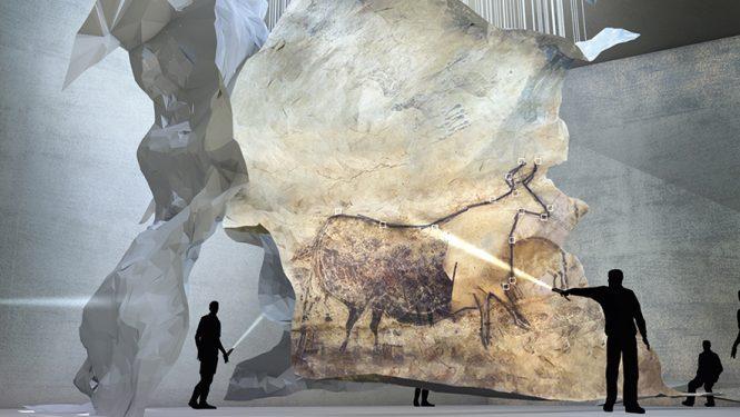 Un plongeon dans la Préhistoire. Une zone de Lascaux IV est spécialement consacrée aux explications à partir de quelques exemples de peintures rupestres.