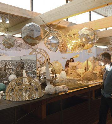 En 2014, une exposition était consacrée au travail d'Olafur Eliasson. Dans la galerie Jorn, l'artiste présenta 400 modèles géométriques utilisés pour le développement de ses créations.