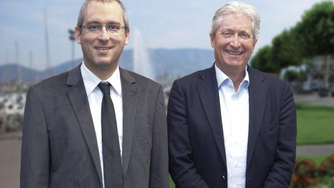 Christian Dandrès et Ronald Zacharias