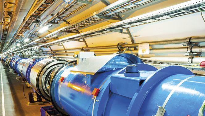 L'accélérateur de particules du CERN. Le Grand collisionneur de hadrons (LHC) est le plus grand et le plus puissant du monde.