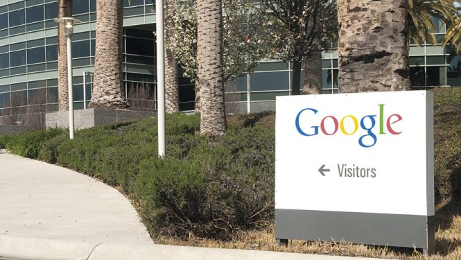 Siège de Google. Mountain View dans la Silicon Valley