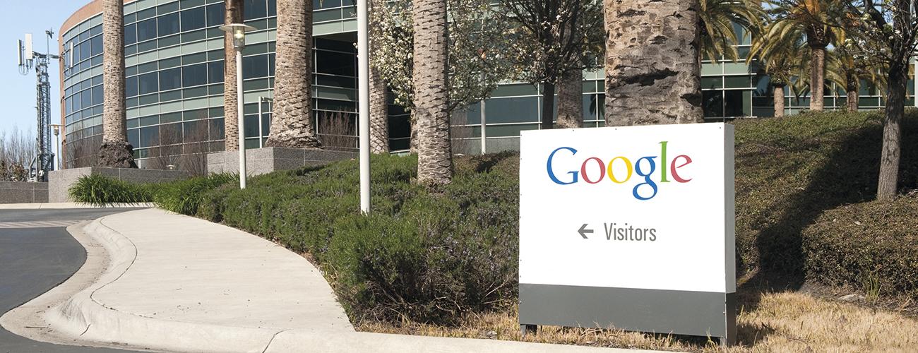 Siège de Google. Mountain View dans la Silicon Valley