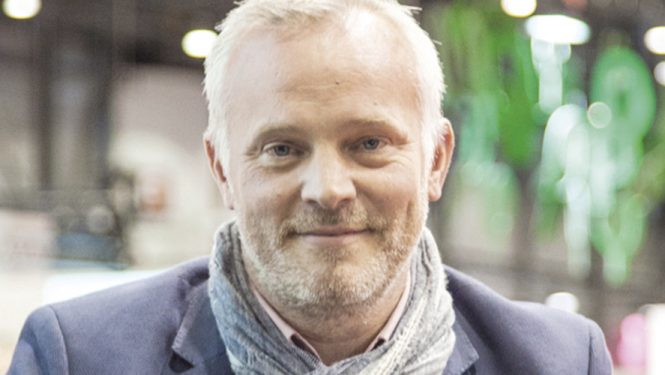 Marc Voltenauer. Lauréat du Prix littéraire SPG 2016 pour son roman Le Dragon du Muveran
