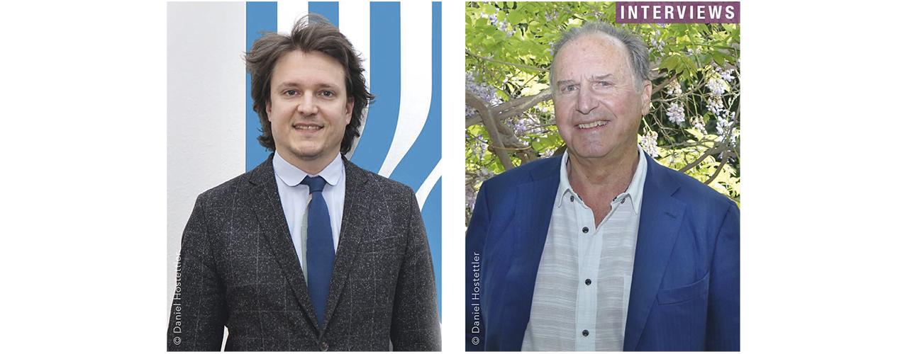 De gauche à droite : Me Nicolas Capt. Avocat associé, Étude Capt & Wyss, Genève et Prof. Willy Pasini. Psychiatre et sexologue.