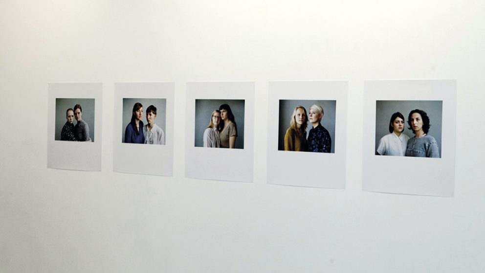 Département Photographie. Quelques portraits de la Danoise Sara Glahn (1987).