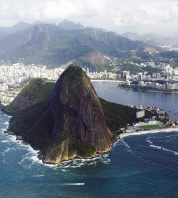 Arrivée à Rio.