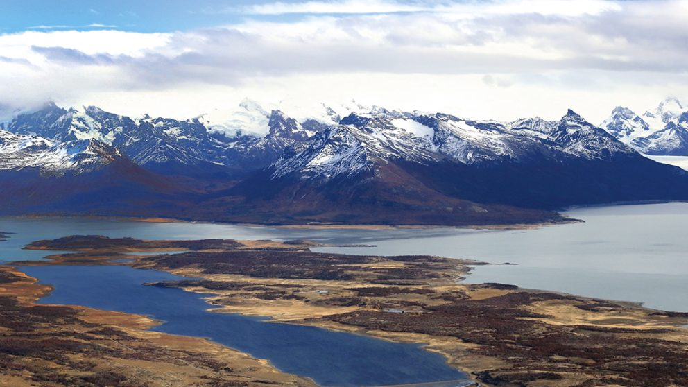 Survol des Andes.