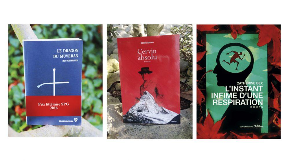 Prix littéraire SPG 2016. Les finalistes.