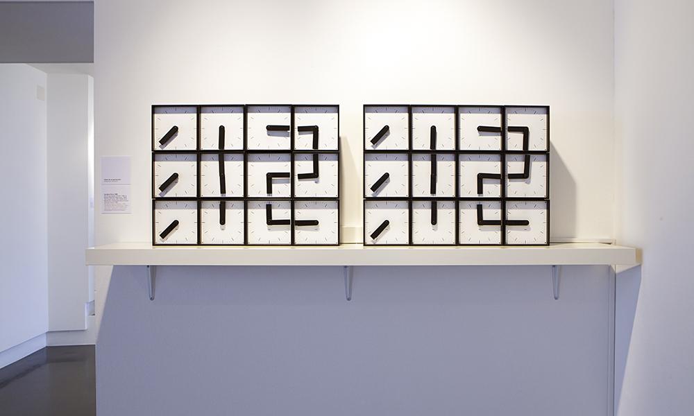 L'Eloge de l'heure (2015). « The Clock Clock », AP2, 2008-2009 de Humans since 1992.