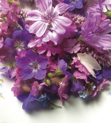 Pour le plaisir des yeux et des papilles. Les fleurs agrémentent les salades ou parfument les confitures, sirops et autres eaux florales.