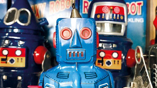 Petits jouets robots