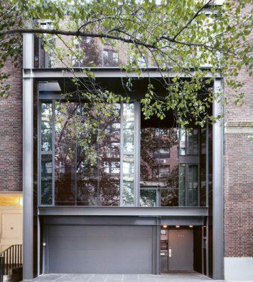 Le 101, la maison newyorkaise du styliste Tom Ford construite par Paul Rudolph au milieu des années 1960.