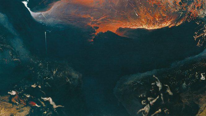 The Great Day of His Wrath (1851-1853) par le peintre anglais John Martin. Malgré la pandémie du coronavirus, la fin du monde n'est sans doute pas pour demain.