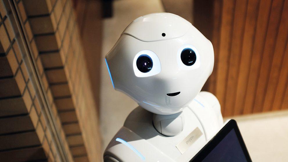 Pepper, le robot d'accueil japonais est capable de reconnaître les émotions de son interlocuteur.