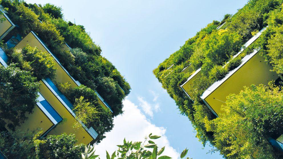Milan, les 900 espèces végétales rassemblées sur les façades.
