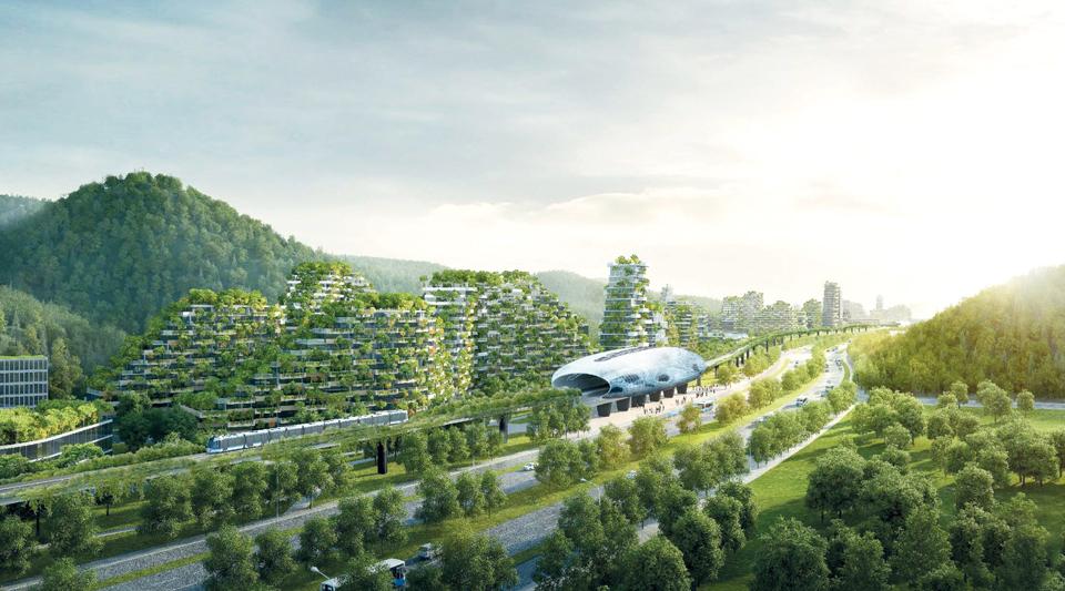 Le projet « Forest City ».