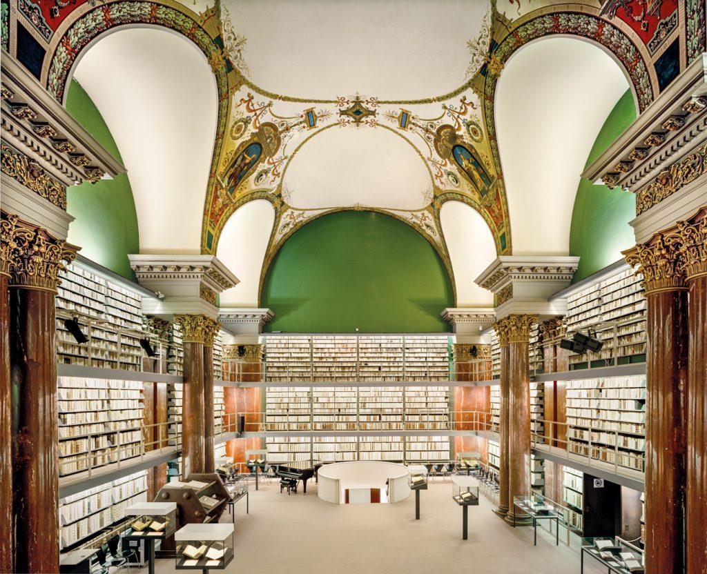 Les livres en images d'Ahmet Ertug. La « Herzog August Bibliothek » à Wolfenbüttel.