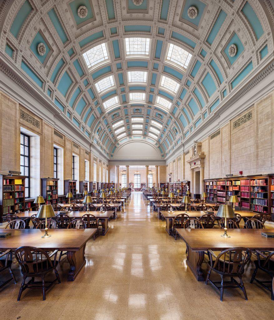 Les livres en images d'Ahmet Ertug. La bibliothèque Widener de l'Université Harvard.