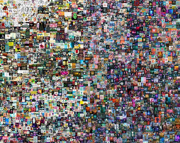 #135 – Art – « Everyday : the First 5000 days » l'oeuvre numérique de l'artiste américain Beeple.