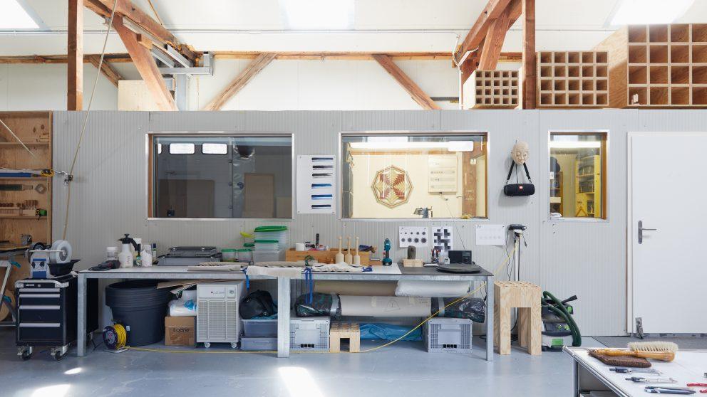 #135 – Art – L'atelier de Fabrice Gygi.