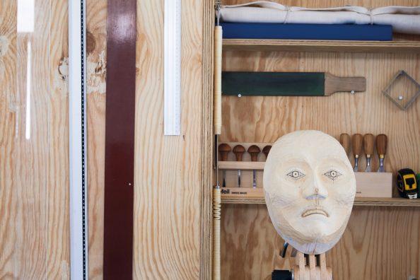 #135 – Art – Le masque d'un revenant de Fabrice Gygi.