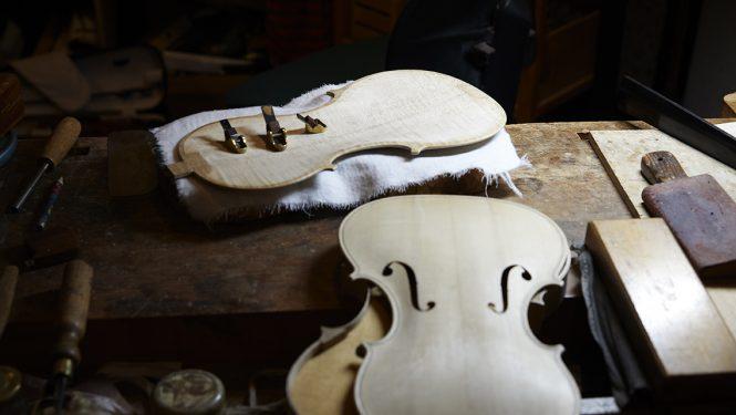 #135 – Design – Le dos et la table d'harmonie d'un instrument.