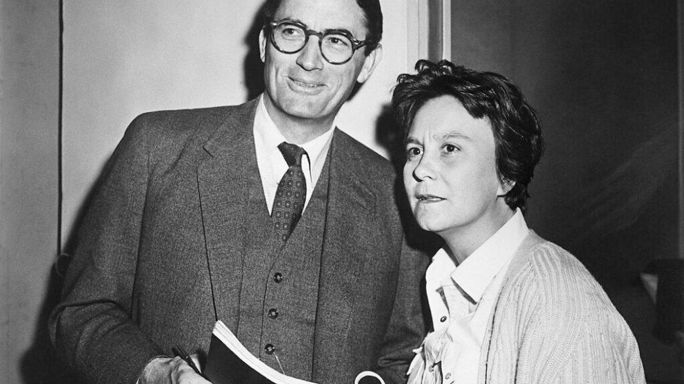 #135 – Dossier – L'acteur Gregory Peck et l'écrivaine Harper Lee en 1962.