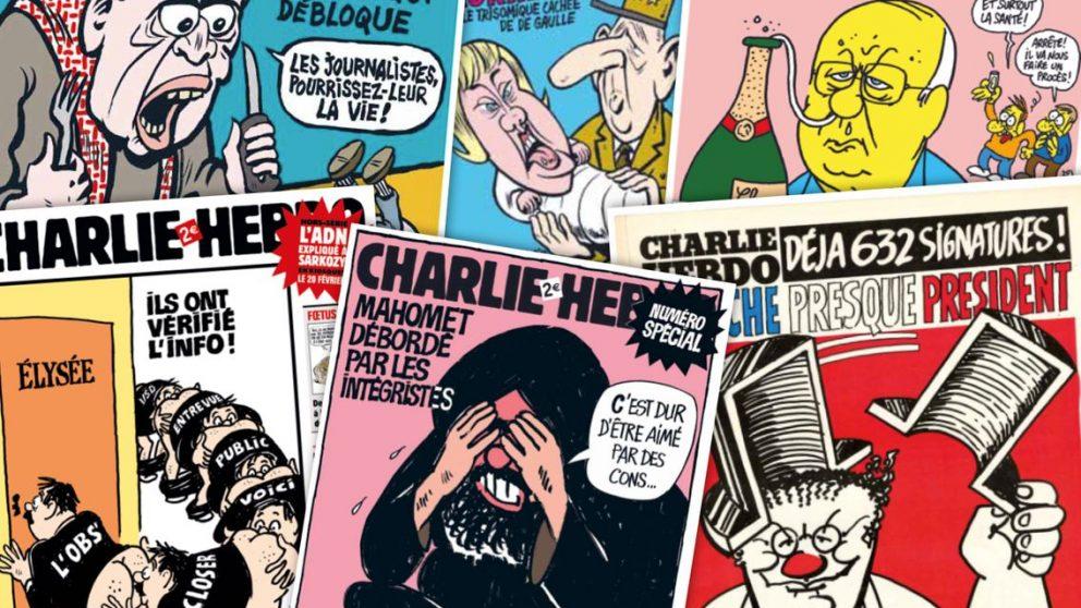#135 – Dossier – Les caricatures publiées par «Charlie Hebdo».