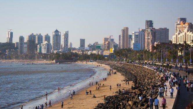 Bombay, poumon économique de l'Inde.